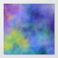 meditation Canvas Prints featuring Meditation by Christy Leigh