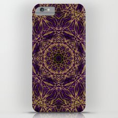 Purple Mandala Hippie Pattern iPhone 6s Plus Slim Case