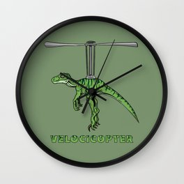 Velocicopter Wall Clock