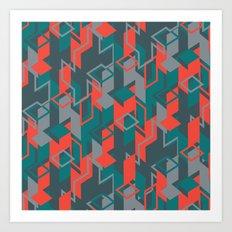 NEO GEO Art Print