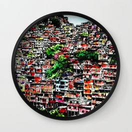 Barrio Wall Clock