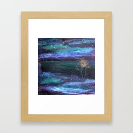 Knightsky Northern Lights Framed Art Print