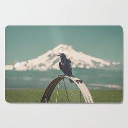 Mt. Jefferson Raven Cutting Board