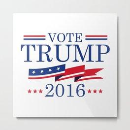 Vote Trump 2016 Metal Print