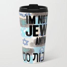 Not Only Jewish Travel Mug