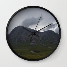The White Cottage Wall Clock