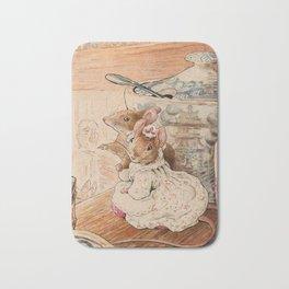Mice by Beatrix Potter Bath Mat