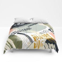 Abstract autumn season Comforters