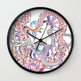 In My Hair- Colourized Wall Clock
