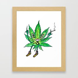 Party Leaf Framed Art Print