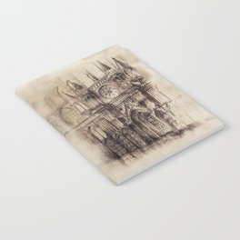 Gothic Cathedral 2 Notebook