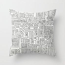 Short Cut Throw Pillow