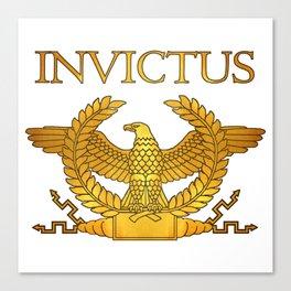 Invictus Golden Eagle Canvas Print