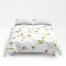 Chic Small Rose Pattern  Comforters