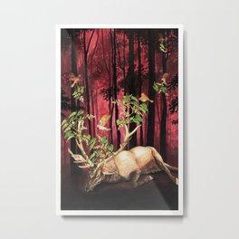 Scala Naturae Metal Print