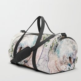 Strawberry Moon Duffle Bag