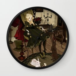 Clever Little Alice Wall Clock