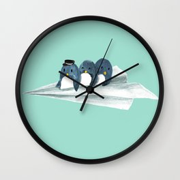 Let's travel the world Wall Clock