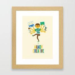 The Handy Creative Framed Art Print
