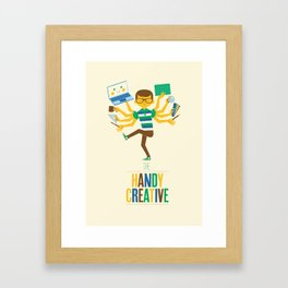 The Handy Creative Framed Art Print
