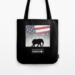 Vote This Way Tote Bag