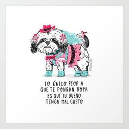 Manolo Art Print