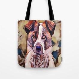The Norwegian Elkhound Tote Bag