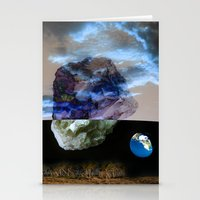 physics Stationery Cards featuring Multiverse by Deepti Munshaw