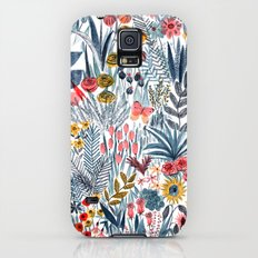 Flowers Slim Case Galaxy S5
