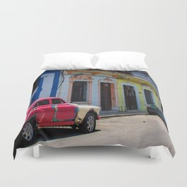 Colors of the Rainbow Duvet Cover