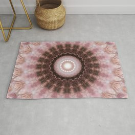 Mandala gentle blush Rug