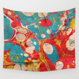 Abstract Painting ; Aurora Wall Tapestry