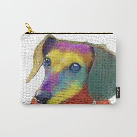 Dachshund Dog Carry-All Pouch