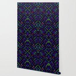 Super Blue Lines Wallpaper