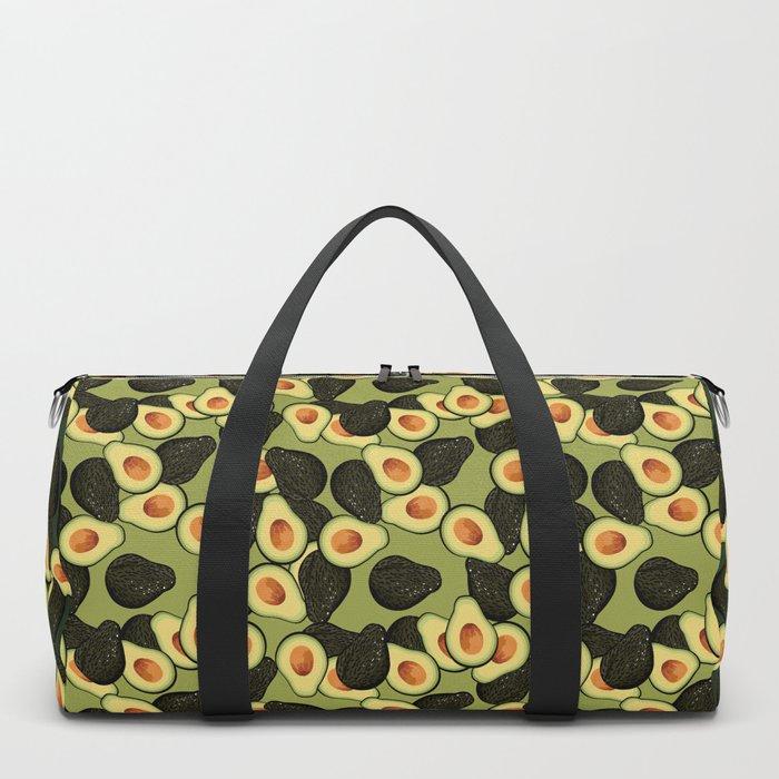 Avocado Pattern Duffle Bag
