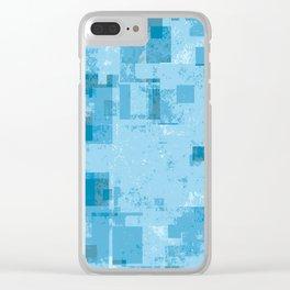 Twelve Pixels Clear iPhone Case