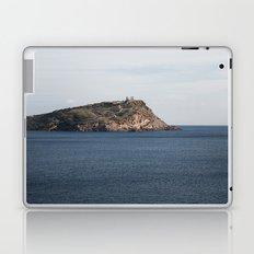 Greek seascape - landscape photography poster - Cape Sounio - Greece Laptop & iPad Skin