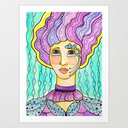 Calliope by RomantzArt Art Print