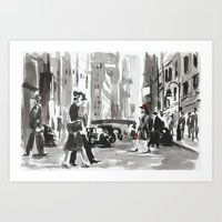 peggy carter Art Prints featuring Peggy by min1919