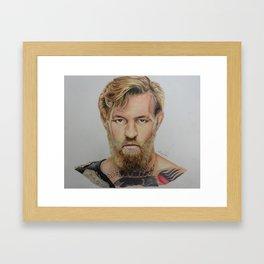 CONOR MCGREGOR : FIGHT IRISH Framed Art Print
