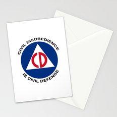 Civil Defence Stationery Cards