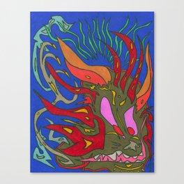 Chupacabra Canvas Print