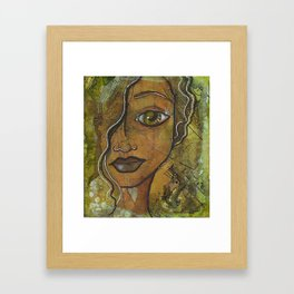 For My Love Is Music Framed Art Print