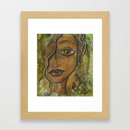 For My Love Is Music Framed Art Print