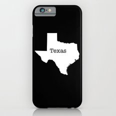 Cartography of the famous State of Texas iPhone 6s Slim Case