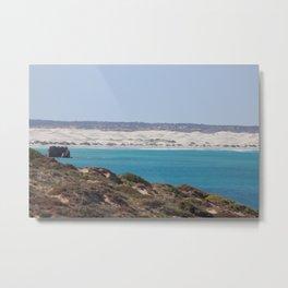 Distant Sacred Land on Nullarbor Metal Print