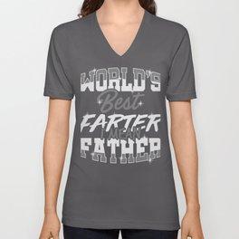 Dad Gift World's Best Farter, I Mean Father Unisex V-Neck