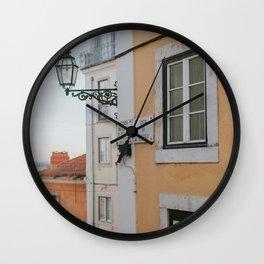 Lisbon's Charm Wall Clock