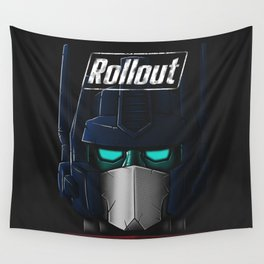 ROLLOUT v2 Wall Tapestry