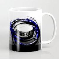 drum Mugs featuring Music - Drum by yahtz designs